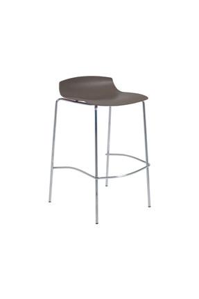 Papatya X-treme Bss Pro Bar Sandalyesi Otel Kafe Restoran Mutfak Kuru Kahve - Krom 0