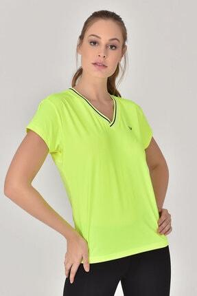 bilcee A.Yeşil Kadın T-Shirt GS-8029 1