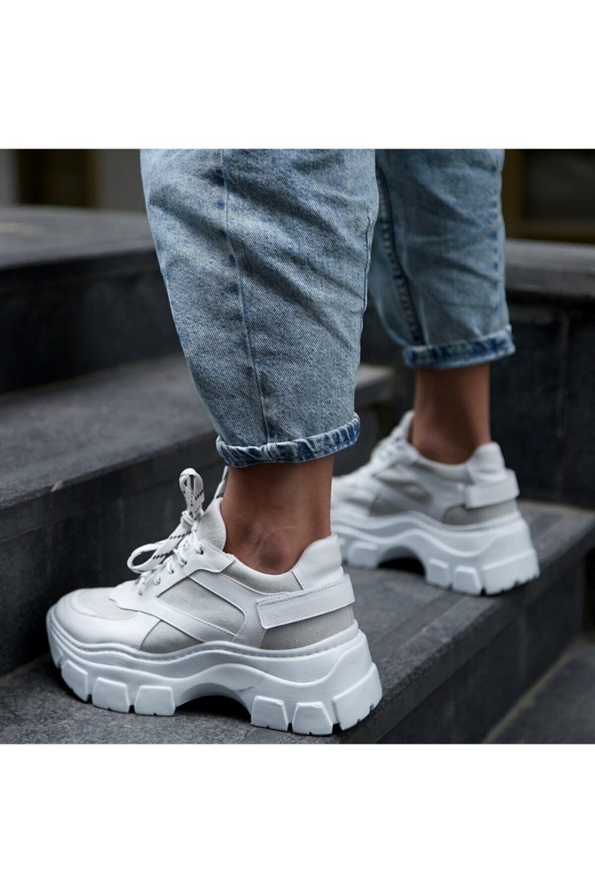 BUTİKTOZLU Kadın Beyaz Sonne Spor Ayakkabısı