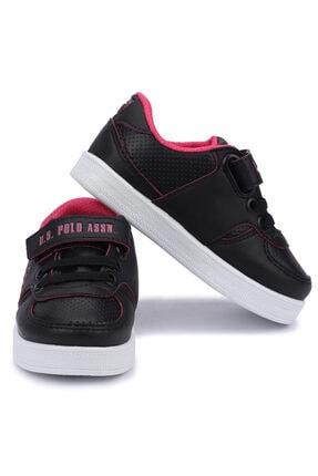 US Polo Assn CAMERON 1FX Siyah Kız Çocuk Sneaker 100909741 1