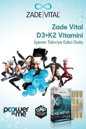 Zade Vital D3+K2 (MK7) Vitamini 30 Yumuşak Kapsül - Blister 2