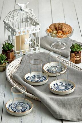 Koleksiyon Ev ve Mobilya 6'lı Tiryaki Çay Seti Güz 31000040216 1