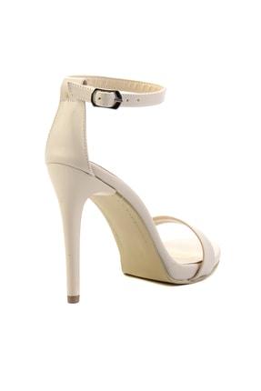 Bambi Bej Kadın Abiye Ayakkabı K01527007909 3