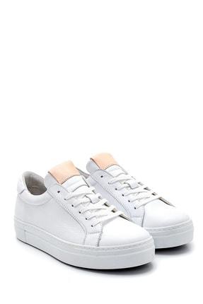 Derimod Kadın Beyaz Deri Sneaker 2