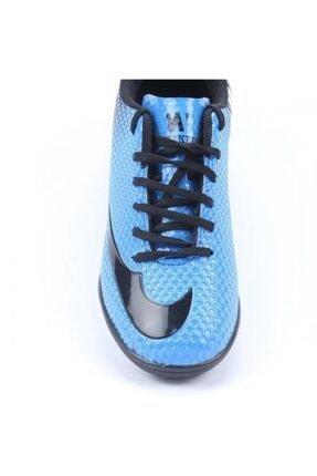 Walked Erkek Mavi Halısaha Futbol Spor Ayakkabı 2