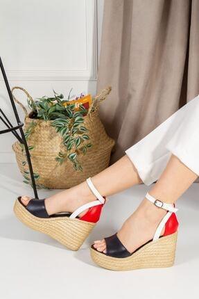 derithy Kadın Vinle Dolgu Topuklu Ayakkabı  1-lzt0590 1