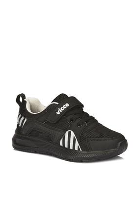 Vicco Unisex Çocuk Siyah/beyaz Weston Spor Ayakkabı 0