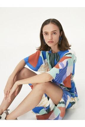 Twist Desen Geçişli Elbise 2
