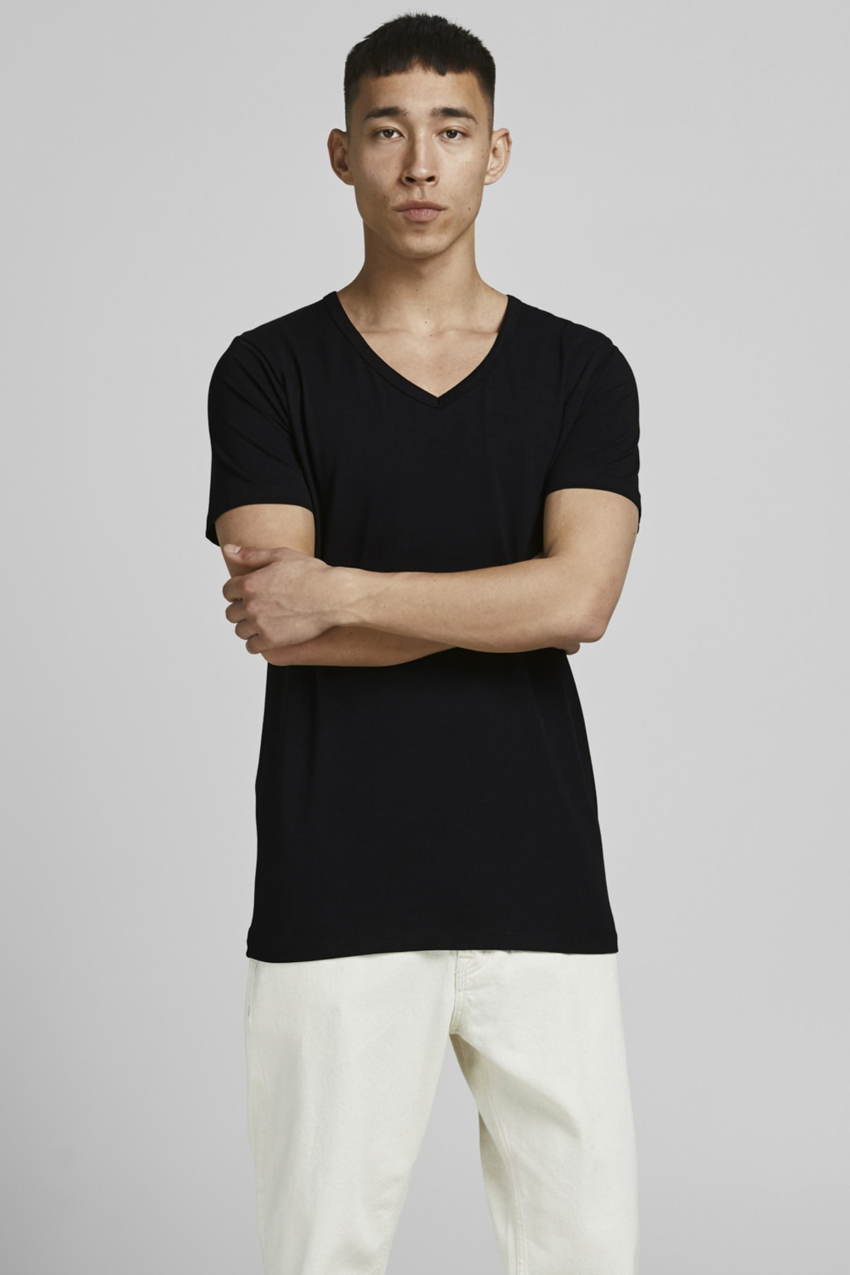 BASIC V-NECK TEE S/S NOOS Erkek Tişört
