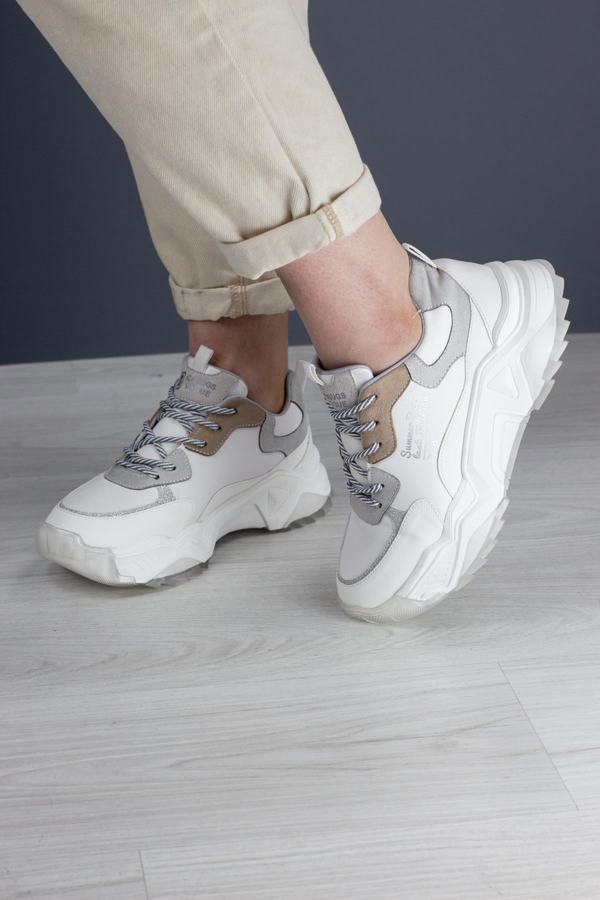 Amoya Kalın Taban Kadın Sneaker
