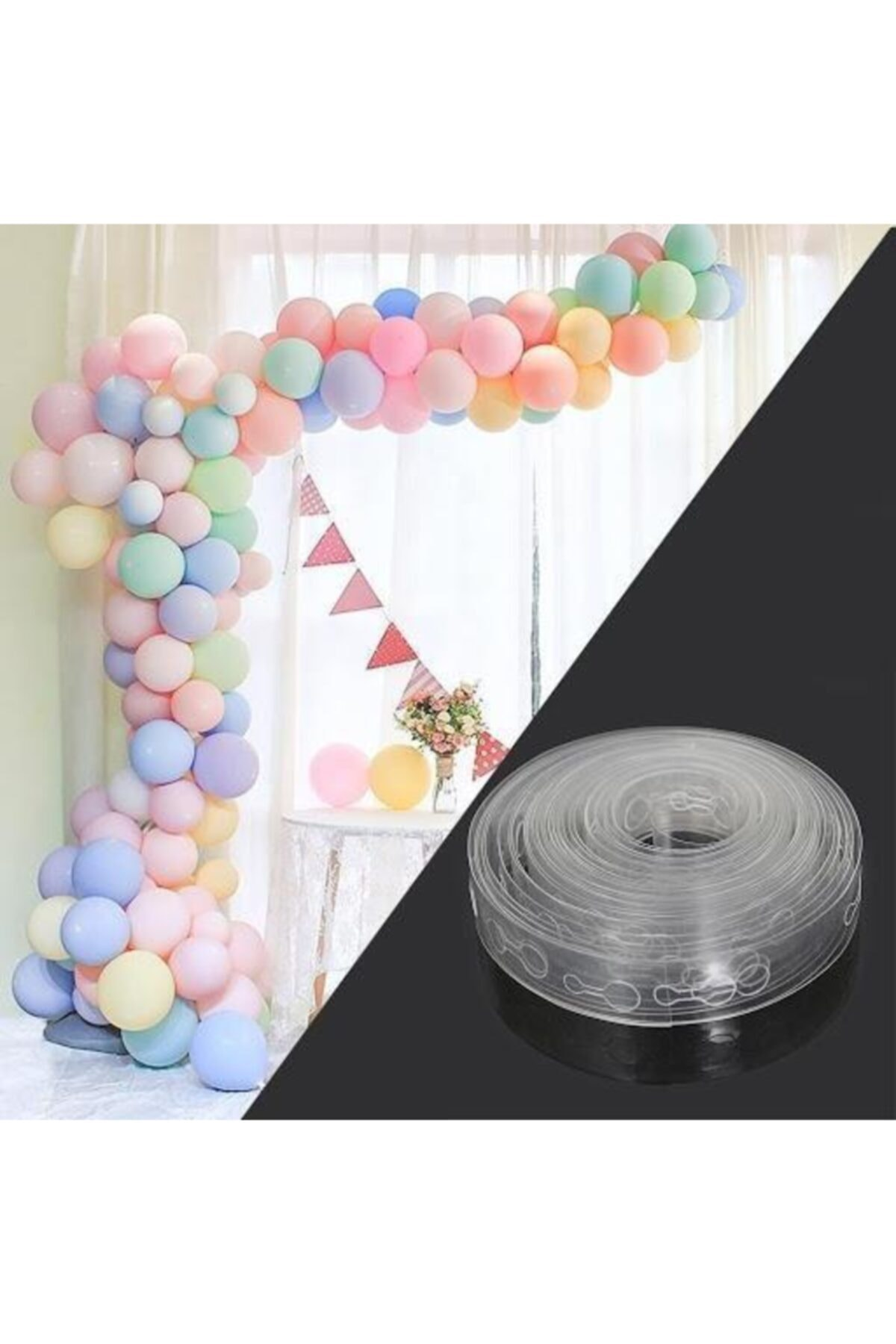 Balon Zinciri - Balon Zinciri Yapma Aparatı -balon Kemeri 5 Metre
