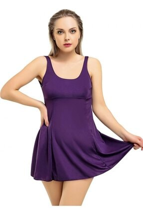 Kadın Mor Elbise Mayo lovvv-mayo-grp-azra