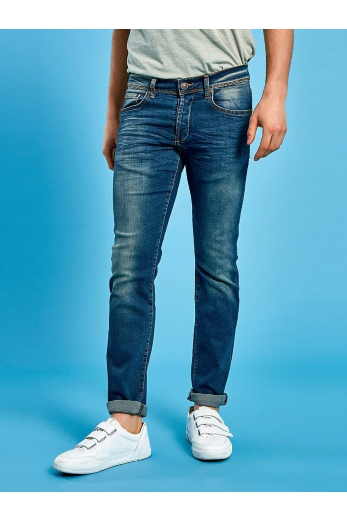Enrıco New Verdant Wash Jean Pantolon