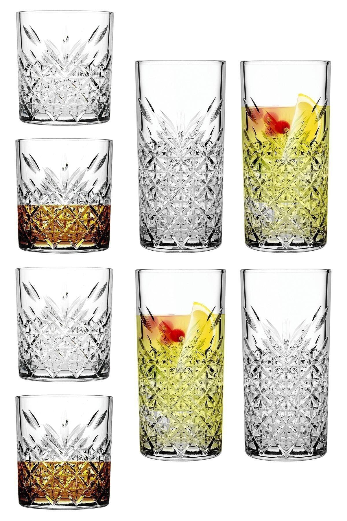 8 Parça Tımeless Viski Ve Kokteyl Keyfi Seti