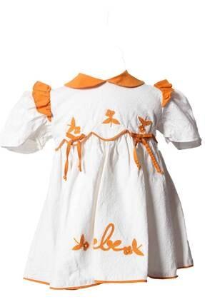 تصویر از Askr Kız Çocuk Bebe Yaka Elbise 1007