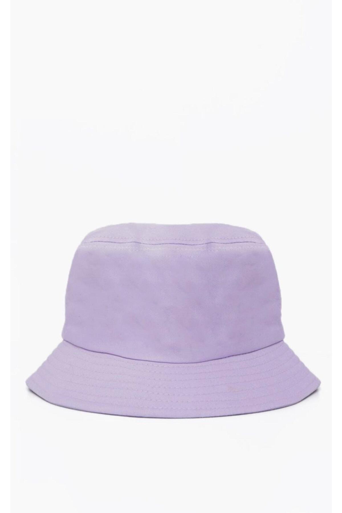Lila Bucket Şapka
