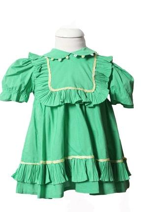 تصویر از Askr Kız Çocuk Bebe Yaka Elbise 1023