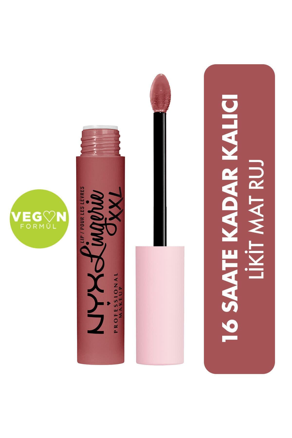 Likit Mat Ruj - Lip Lingerie Xxl Matte Liquid Lipstick Stripd Down
