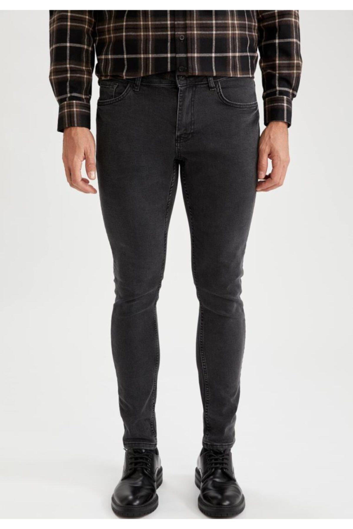Martin Super Skinny Fit Düşük Bel Dar Paça Jean Pantolon