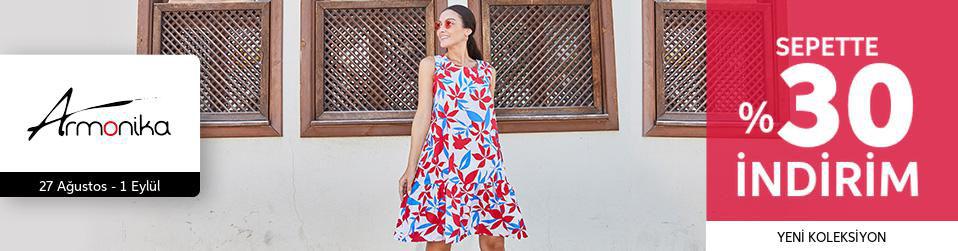Armonika - Kadın Tekstil - Sepette %30 İndirim