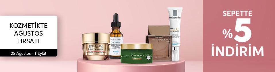 Kozmetikte Ağustos Fırsatı
