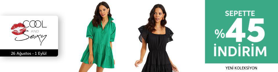 Cool & Sexy - Kadın Tekstil - %45