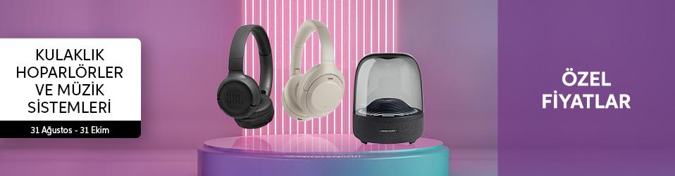 Kulaklıklar,Kablosuz Hoparlörler ve Müzik Sistemleri   Online Satış, Outlet, Store, İndirim, Online Alışveriş, Online Shop, Online Satış Mağazası