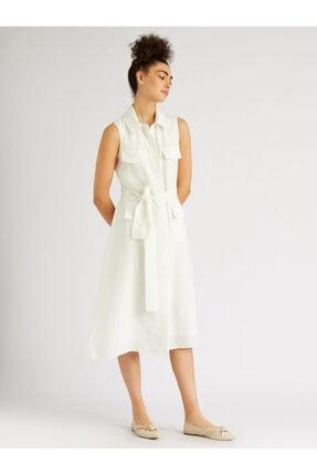 Gömlek Yaka Rahat Kesim Elbise 20109-0017