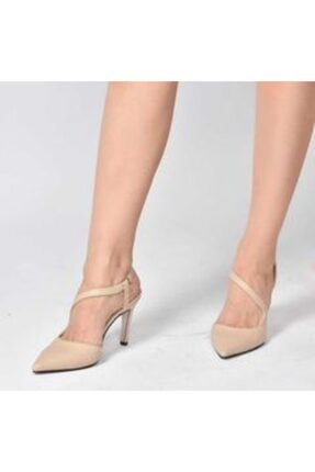 Ten Önü Kapalı Topuklu Ayakkabı glsh1004