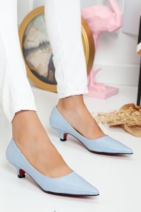Topuklu Ayakkabı Mavi FIVESENSEMOD002377687