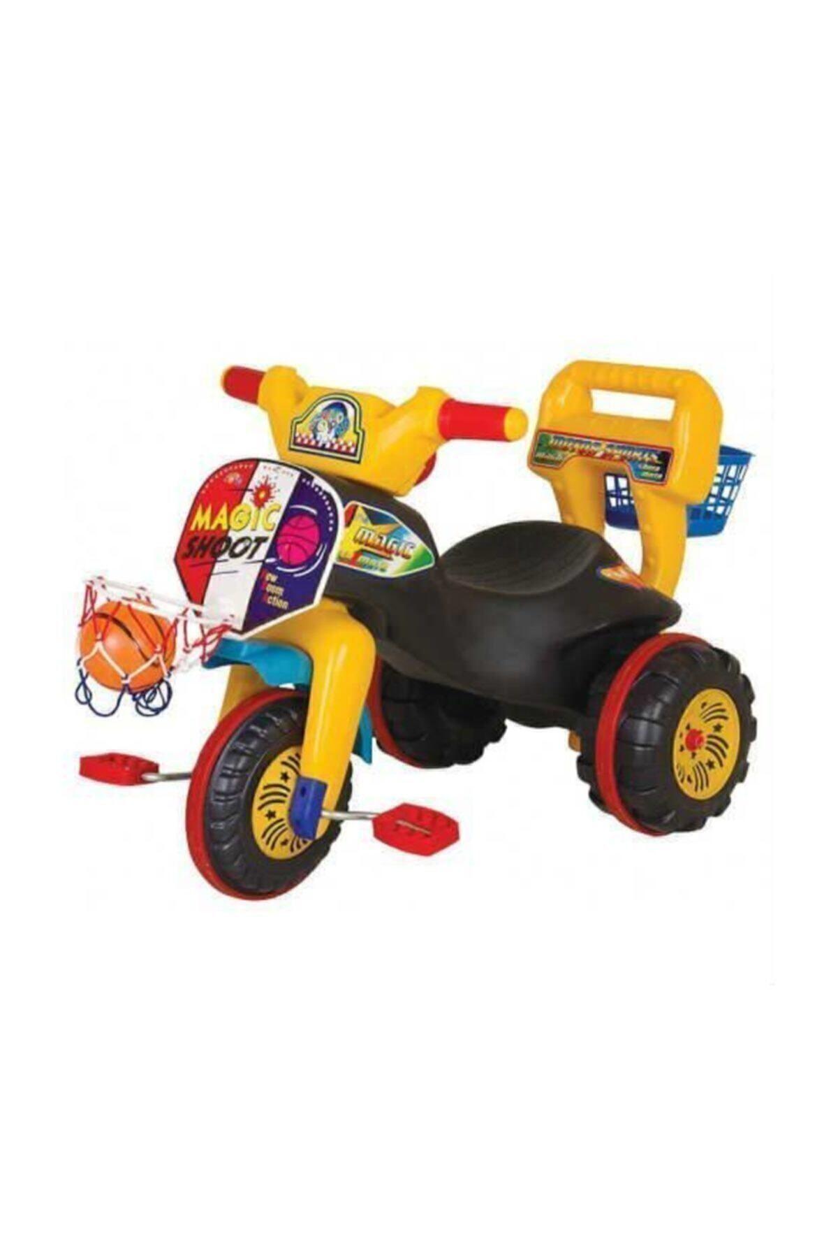 3 Tekerlekli Potalı Çocuk Bisikleti Motor Bisiklet