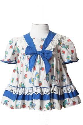 تصویر از Askr Kız Çocuk Fistolu Elbise 2163
