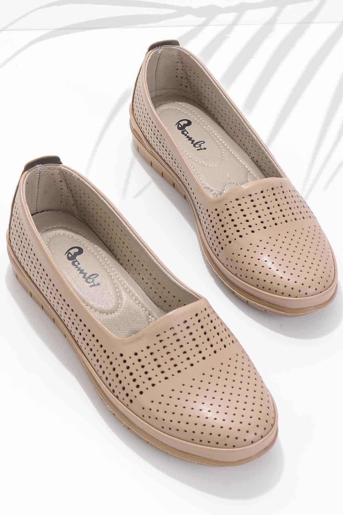 Vizon Kadın Klasik Ayakkabı K01590430009