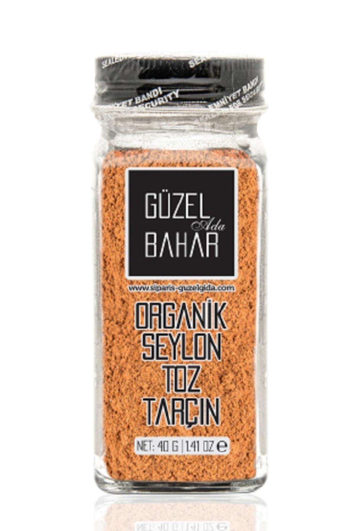 Organik Seylon Toz Tarçın 40 gr