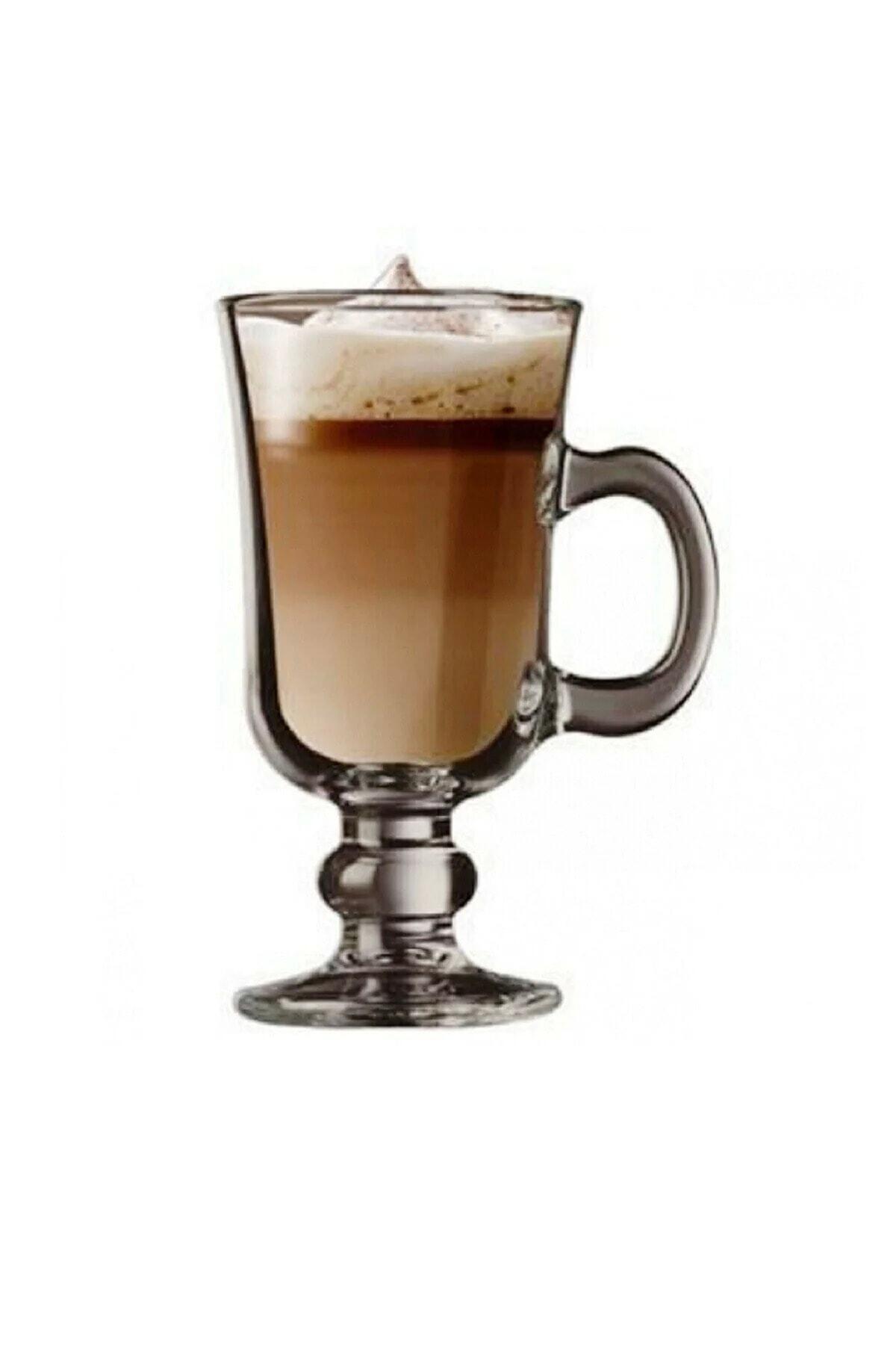 2 Adet Irısh Kulplu Latte Bardak 55141