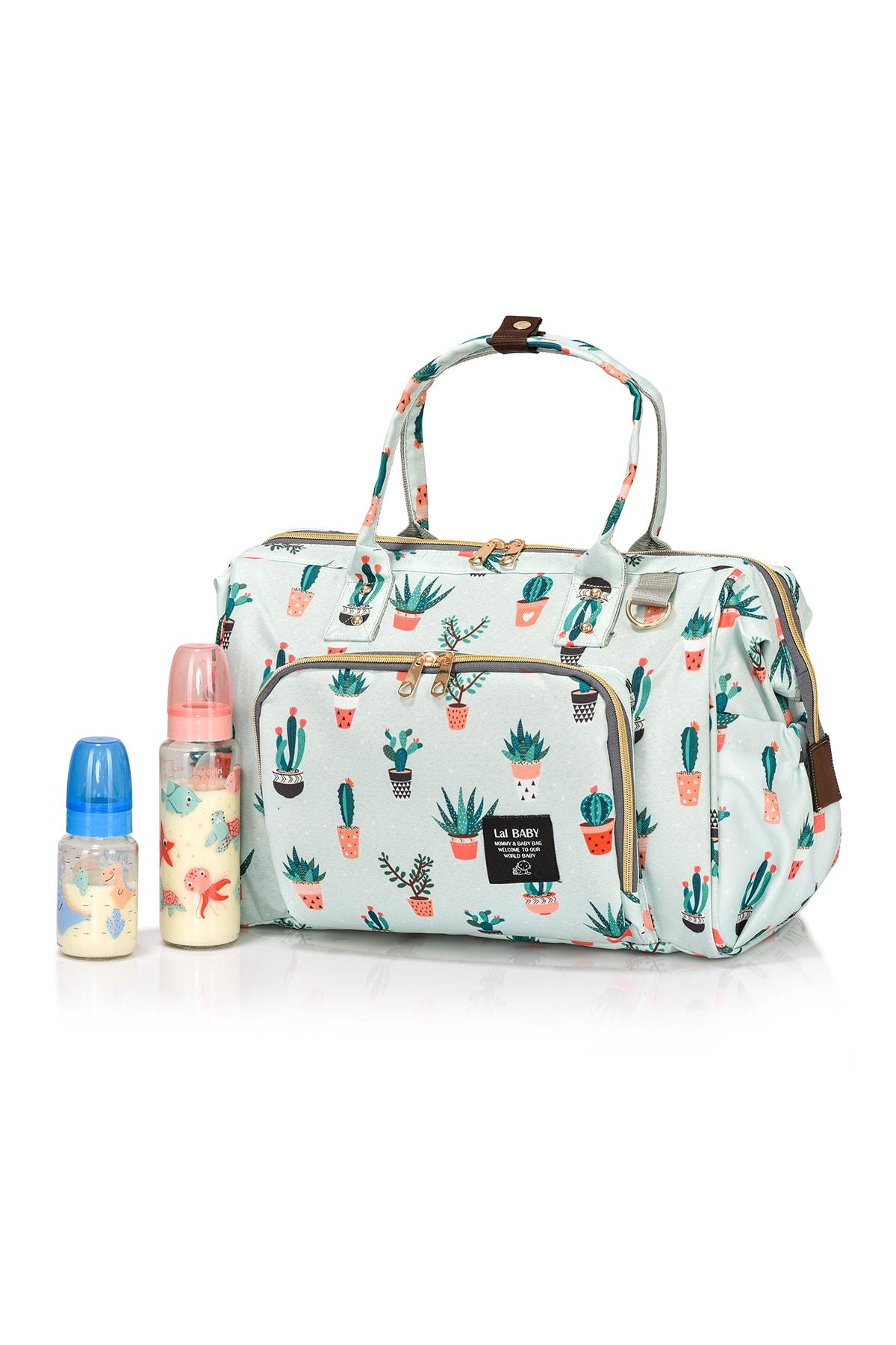 Baggage Bag Kaktüs Omuz Askılı Anne Bebek Bakım Çantası