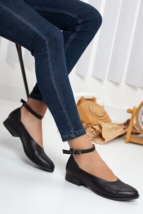 Beta Topuklu Cilt Ayakkabı Siyah MSK-2001