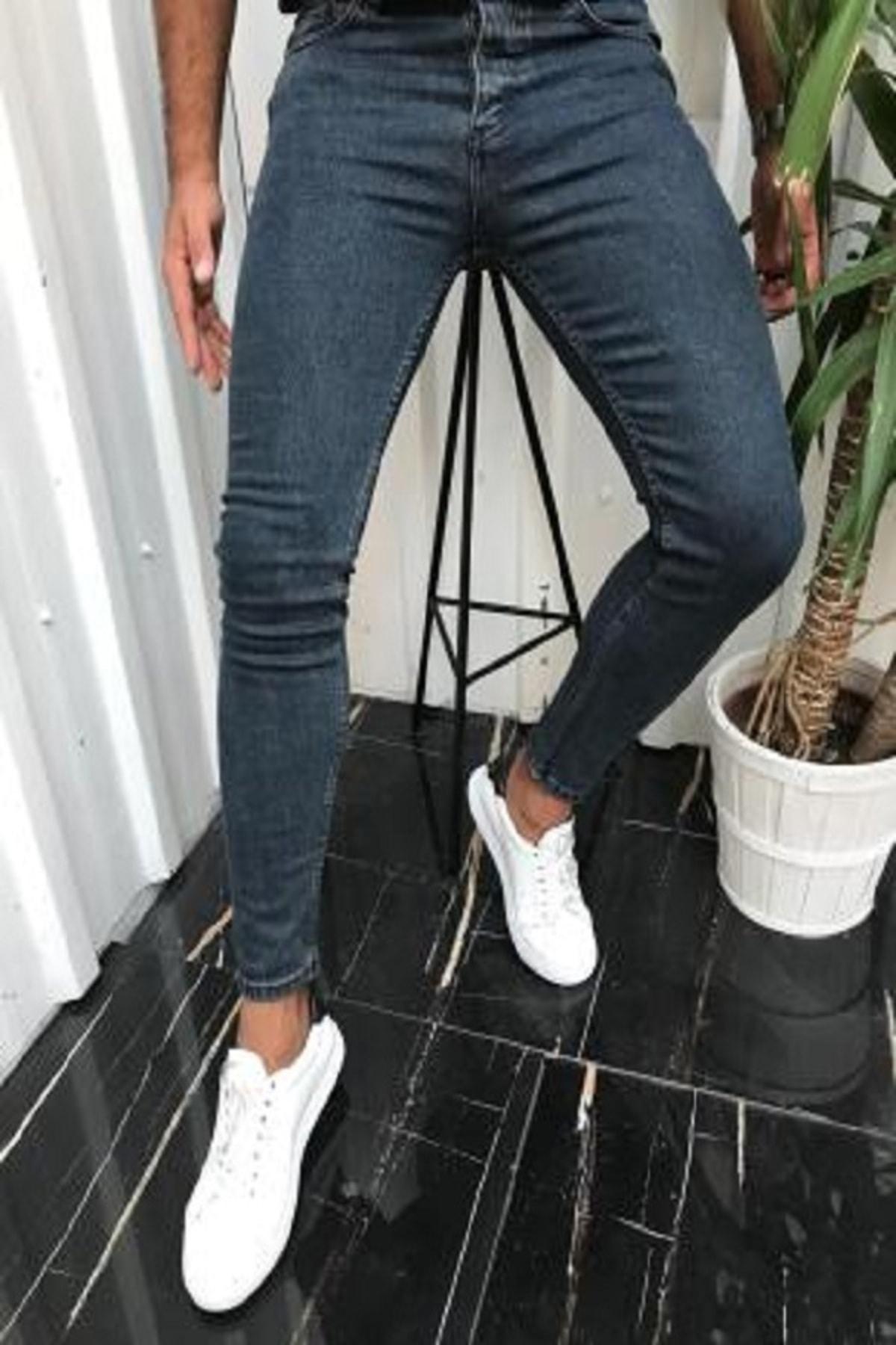 Erkek Slim Fit Kot Pantolon