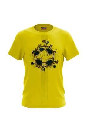 Picture of 304ı4ı0-e06 Erkek Baskılı T-shirt Bartarı
