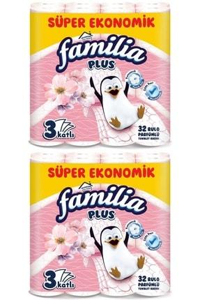 Familia Plus Tuvalet Kağıdı 3 Katlı 64 Lü Set Parfümlü (yeni) (2pk*32) 0