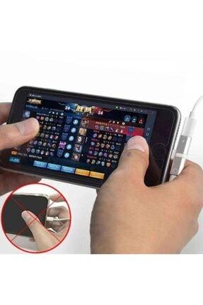 Teknoloji Adım Iphone Kulaklık Dönüştürücü Şarj Çoğaltıcı Çoklayıcı Adaptör 3