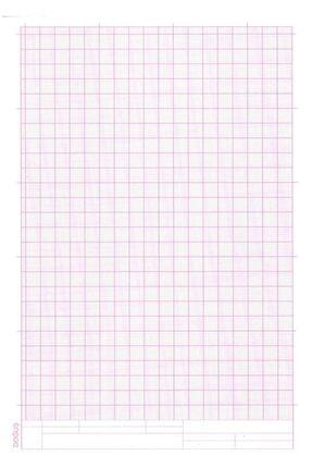FİYPER A4 Milimetrik Teknik Resim Kağıdı 30lu Poşet - Kırmızı 0