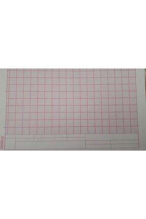 FİYPER A4 Milimetrik Teknik Resim Kağıdı 30lu Poşet - Kırmızı 1