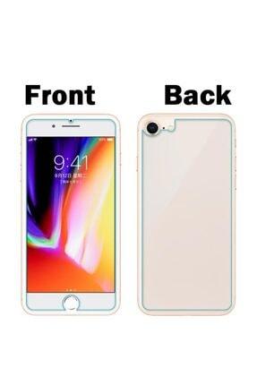 BCA Apple Iphone Se 2020 Ön Ve Arka Kırılmaz Standart Koruyucu Temperli Cam 2