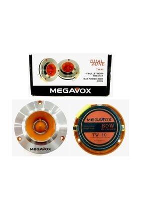 megavox Tw-40 4 '' 400 Watt Profesyonel Spl Dome Tweeter ( Anfi Uyumlu ) 1