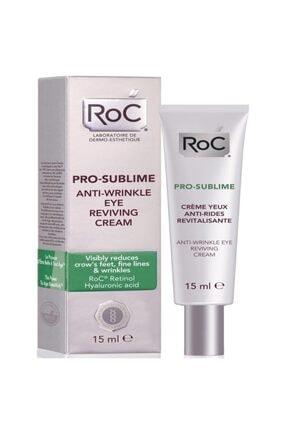 Roc Pro Sublime Anti Wrinkle Kırışık Karşıtı Göz Kremi 15 Ml 0