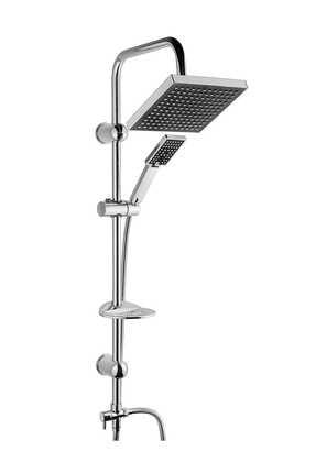 Vilas Beyazsu Fonksiyonlu Robot Yağmurlama Tepe Duş Seti 0