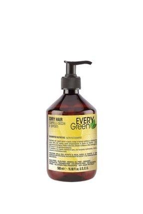 EveryGreen Dry Hair Kuru Saçlar Için Besleyici Şampuan 500 Ml 0