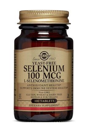 Solgar Selenium 100 Mcg 100 Tablet 033984025516 0