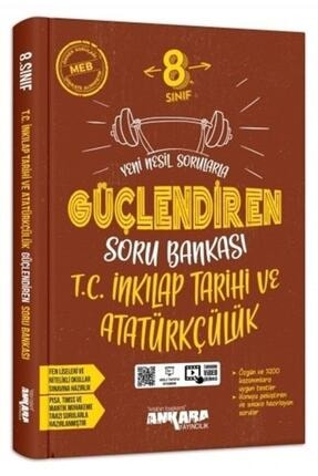 Ankara Yayıncılık 8. Sınıf T.c. Inkılap Tarihi Ve Atatürkçülük Güçlendiren Soru Bankası 0